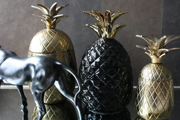 Bol Com Ananas Decoratie Goud Beeld 20cm
